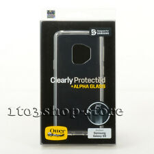 OtterBox Samsung Galaxy S9 Clear Protected Skin Soft Gel Snap Case+Alpha Glass