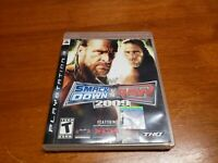 WWE SmackDown vs. Raw 2009 Featuring ECW (Sony PlayStation 3, 2008) PS3 TESTED