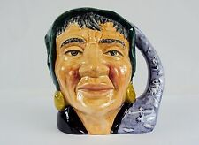 "Toby Character Jug (Small) ~""Fortune Teller"" ~ Royal Doulton D6503, #9120630"