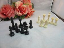 Random plastic chess pieces for mixed media art supply, replacement