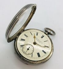 Antique Sterling Silver Henry Levy & Co pocket watch 144 years old 1876 Spares