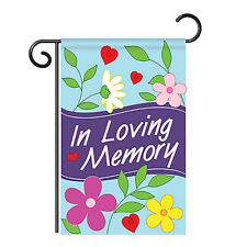 Welcome In Loving Memory - Applique Decorative Garden Flag - G150042-P2