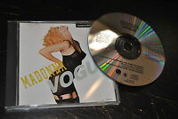 CD MAXI SINGLE MADONNA VOGUE 1990 USA WARNER