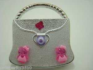 CUTE HELLO KITTY COMPACT MIRROR  PEARL PURSE Great Gift for Girl