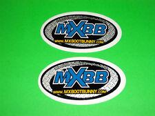 MXBB MX ALPINESTARS THOR FOX RACING SIDI MOTOCROSS BOOT BUNNY STICKERS DECALS