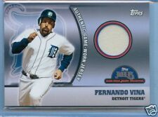 Fernando Vina Topps MLB Game Used Jersey Collec. Card