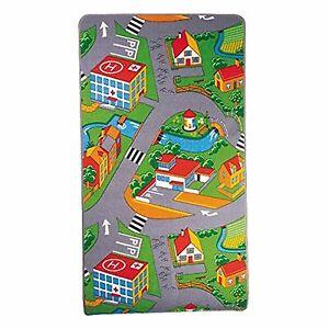 Bedroom Rug Boys Cars Playmat Kids Rugs Playroom Rugs