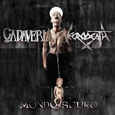 MONDOSCURO - CADAVERIA and NECRODEATH members - CD 2016. black thrash metal.