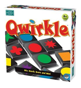 Qwirkle Board Game   MENSA Award Winning   Family Strategy Game from Mindware
