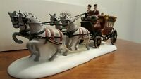 Dept 56 Dickens Village 1989 Accessory ROYAL COACH 55786 Retired 1992