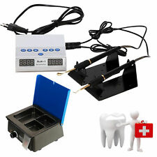 Dental Lab Electric Wax Carving Heater Pen Knief Tips+ Analog Waxer Melting Pot