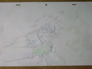 ONE PIECE LUFFY ANIME PRODUCTION GENGA DOUGA SKETCH 9
