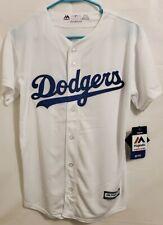 AUTHENTIC Majestic Los Angeles Dodgers Jersey 27 Matt Kemp Youth Large