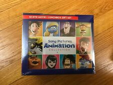 Sony Pictures Animation Collection (DVD, 10-Disc Set), lunchbox gift set, new
