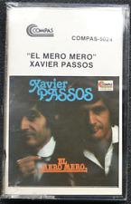 """Xavier Passos """"El Mero Mero"""" Cassette New! Sealed!"""