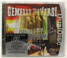 GEMELLI DIVERSI - REALITY SHOW - DUAL DISC ( CD/DVD ) Sigillato