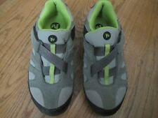 MERRELL CHAMELEON 4 Z-Rap Youth Size 5 Olive/Lime Green Athletic Shoes