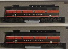 N-Scale Kato Rock Island F2 AA Locomotive Set Part # 106-0203