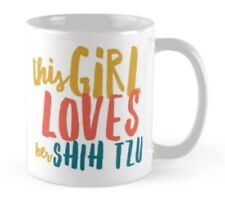 Novelty shih tzu dog mug, Ideal gift for any Lover of Shih Tzus