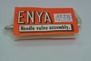 U/CONTROL NEEDLE VALVE ASSY FOR THE ENYA ENGINE .45BB (ENYA part # 45B20) NIB