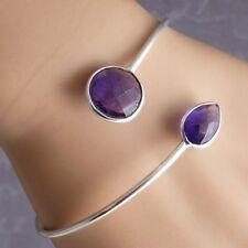 Cuff Amethyst Fine Bracelets