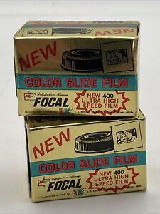 Kmart 400 Color Slide Film NOS Lot Of 2 Sealed Boxes Vintage 35mm