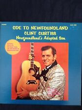 CLINT CURTISS: ODE TO NEWFOUNDLAND 1971 Canadian LP ALS288 Signed on sleeve
