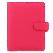Filofax - Pocket Saffiano Fluro Pink Diary Organiser