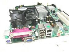 DG965SS MOTHERBOARD + CPU + 1GB OF DDR2 RAM + BACK PLATE