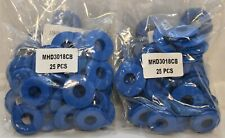 Commercial Truck Trailer Blue Rubber Gladhand Seals (50) - Mhd3018Cb