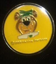 Vintage  ~ Yogi Bear pin ~ 1988 Hanna Barbera ~ RARE ~ Free Shipping