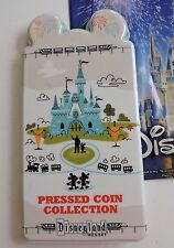 Disney Parks Disneyland Pressed Coin Collection Book Penny Quarter 2017 NEW