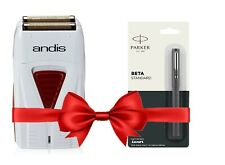 Latest Andis 17150 Profoil Lithium Trimmer Shaver with Free Parker Pen