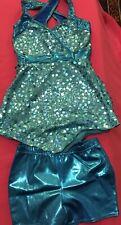 Children's Size Turquoise Dance Wear