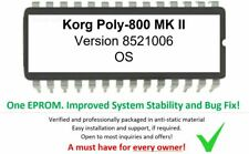 Korg Poly-800 MKII - Version #851006 Firmware Update OS Upgrade