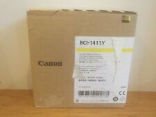 Genuine Yellow CANON BC1-1411Y INK Cartridge for W8200 W8400 printer