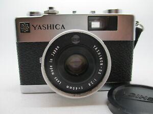 NEAR MINT  YASHICA Electro 35 MC 35mm Rangefinder Film Camera WOrking Good!