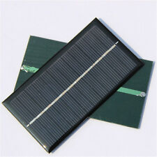 DIY  6V 1W Solar Panel Module For Light Battery Cell Phone Toys Chargers new
