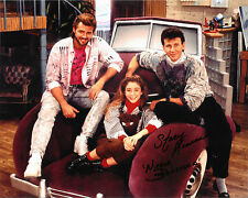STACI KEANAN Signed My Two Dads 8x10 PHOTO Step by Step TV Show Nicole Bradford