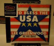 Lee Greenwood - God Bless the USA: At His Best [NEW CD] FREE SHIPPING!