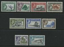 Glbert & Ellice Islands KGVI 1939 all values to 1/ mint o.g. hinged