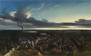 Horace Vernet The Battle of Montmirail Giclee Canvas Print Paintings Poster