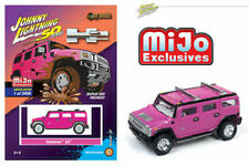 Hummer H2 Pink 2400 Made MIJO Exclusive 1/64 Scale By Johnny Lightning JLCP7210