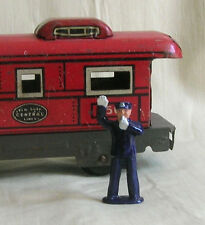Policeman/Traffic Cop, O scale tinplate model train layout figure, Reproduction