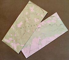 Map Design Business Size Envelopes (qty. 24)