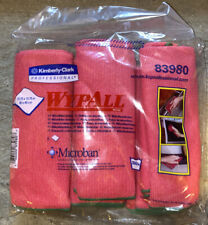"NEW SEALED WypAll 6 Pack 83980 PINK Microfiber Cloths 15.75"" x 15.75"""