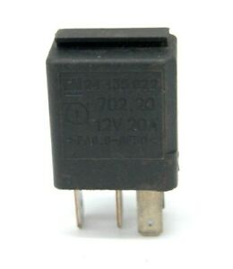 VAUXHALL SAAB VECTRA 9000 ASTRA 9-5 GM MULTI USE RELAY 4 PIN 12V 20A 24435922