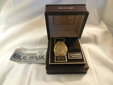1960's Bulova Accutron Coca Cola employee awards 40yrs watch case w/booklet
