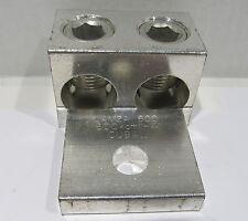 Panduit Aluminum Mechanical Lug LAM2A 600 1 Hole 2 Barrel CU9AL