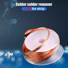 3.5mm Desoldering Braid Solder Remover Wick Copper Spool Wire 1.5M Length